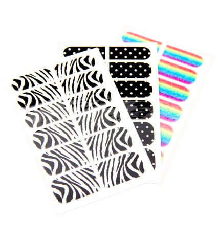 Metalix Nail Wraps - Pack of 3 sheets