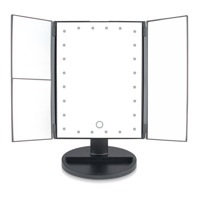 24 LED TOUCH DIMMABLE MAKEUP MIRROR thumbnail