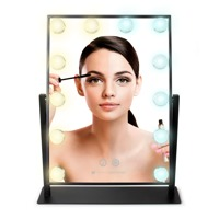 Rio Hollywood Glamour Large  Warm & Bright Light Mirror