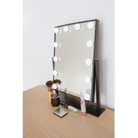 Rio Hollywood Glamour Large Bright Light Dressing Table Mirror