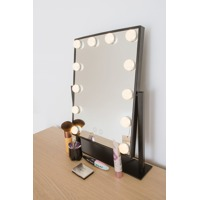 Rio Hollywood Glamour Large Warm Light Dressing Table Mirror